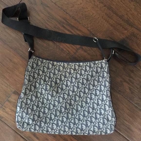 651c7a0e50da Dior Handbags - Authentic Christian Dior vintage denim sling bag